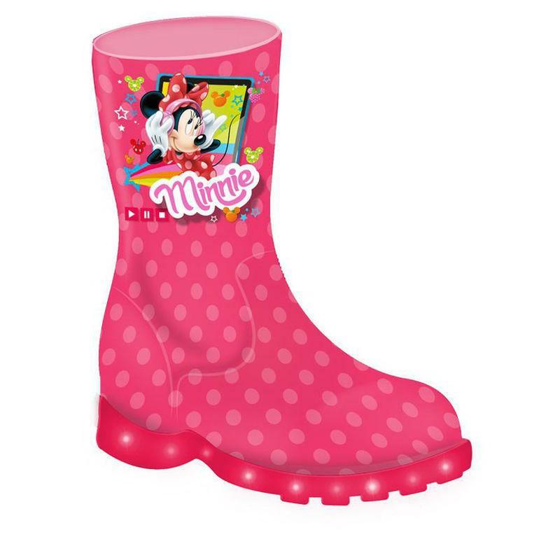 BOTTES de pluie Minnie mousse Disney