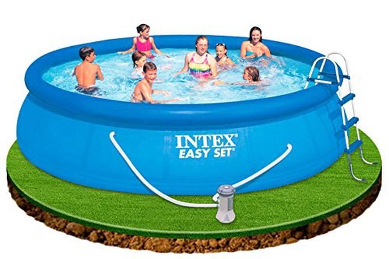 Intex 15 180 X 42 Quot Easy Set Swimming Pool Joguinesibicisgaspar